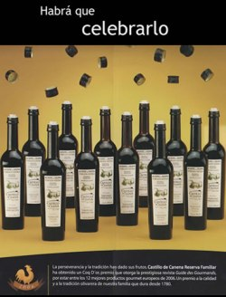 Castillo de Canena el mejor aceite de oliva